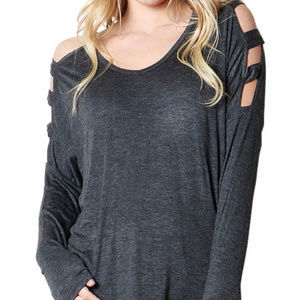 Zenana Outfitters Ladder Style Top